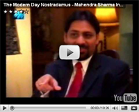 Mahendra SHarma on MTV