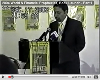 2004 World & Financial Prophecies, Book Launch - Part 1